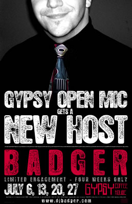 Gypsy Open Mic Poster