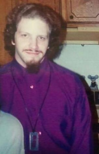 Fall 1993, with a squared-off goatee, looking like an Egyptian pimp.