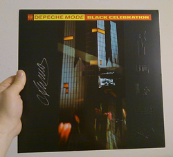 Black Celebration record cover