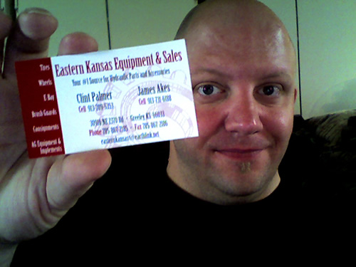 Eastern Kansas Equipment and Sales card