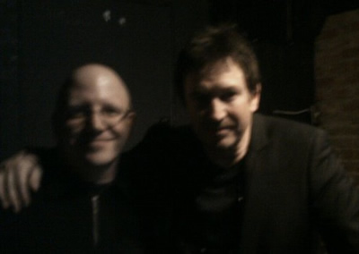 Alan Wilder (Right) and I.   Yep.  THE Alan Wilder.  Right there.  With me.